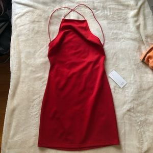 TOBI red dress NWT size xs